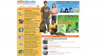 Site KlickEscolas - Sistema de ensino com serviços exclusivos para escola
