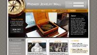 Proposta de projeto gráfico da joaelheria e antiquário canadense Premier Jewelry Mall