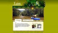 Proposta de projeto gráfico para o site Tuim Parque