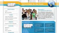 Universidade de São Paulo - Portal da USP, voltado para estrangeiros em 4 idiomas