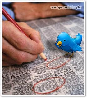 Seu emprego (job) no Twitter